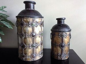 Decorative Metal Containers