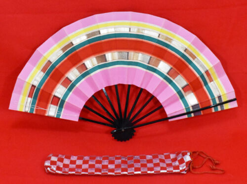 "Kyoto Mai-ogi (a fan for Japanese traditional dance)  ""Multicolor"" #3853"