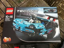 Lego Technic 42050 2 in 1 Drag Racer