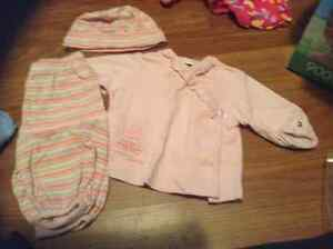 0-3 mth girls clothes summer jumpers London Ontario image 3