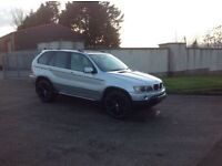 24/7 Trade sales NI Trade Prices for the public 2003 BMW X5 3.0 SE Silver full black leather