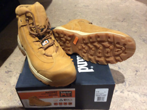 Timberland ratchet safety work boot for sale. Size 11.