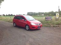 24/7 Trade Sales NI Trade Prices for the public 2008 Vauxhall Zafira 1.9 CDTI Breeze Red