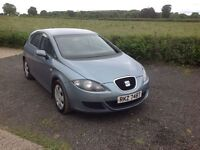 2006 Seat Leon 1.9 TDI Reference blue full mot good condition inside and out