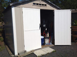 Rubbermaid shed 10' x 8'