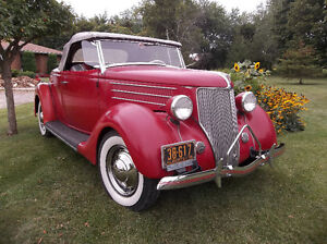 """1936 Ford kustom New Old Stock grille shell  """"Pines Winterfront"""" London Ontario image 9"""