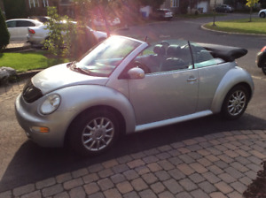 Beatles 2004 convertible transmission manuelle 193 000 km