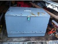 Heavy duty secure tool chest vault