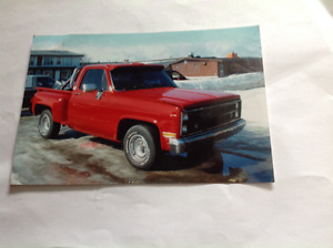 For sale 1986 gmc side step