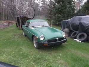 1977 MGB project for trade/sale