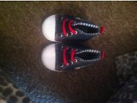 Boys shoes first size and size 3
