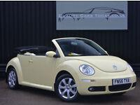 Volkswagen VW Beetle 1.6 Luna Convertible * Mellow Yellow +Heated Seats+Special*