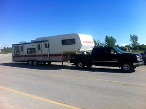 Camper Towing Hauling