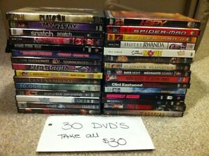 DVDs-pick up only