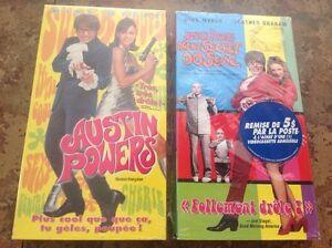 VHS Austin Powers 1-2