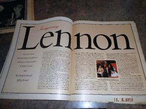 JOHN LENNON: ROLLING STONE MAGAZINES Kitchener / Waterloo Kitchener Area image 8