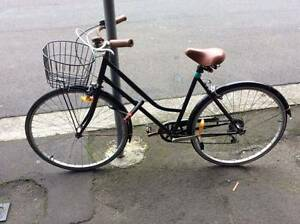 Black bike with gears $120 Bellevue Hill Eastern Suburbs Preview
