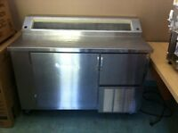 Nor-Lake 4' prep table reconditioned