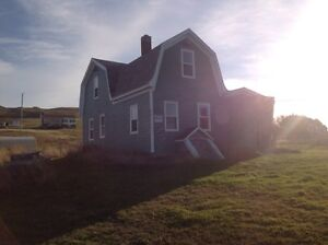 House for sale on Entry Island (Ile d'Entree) Magdalen Island Qc