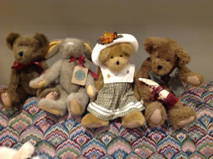 Boyd's Bear stuffed animals