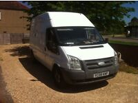 Ford transit start and drive