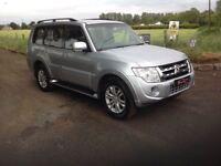 24/7 Trade sales NI Trade Prices for the public 2012 Mitsubishi Shogun SG3 DID 7 Seater automatic