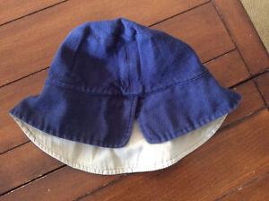 Lady's hat with secret money compartment $5