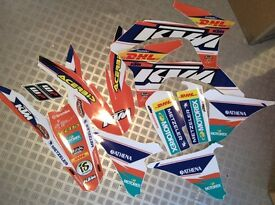 KTM motocross / enduro graphic kit - Factory Edition. NEW