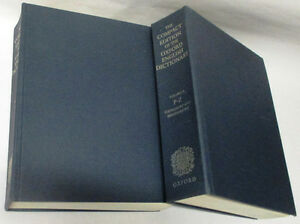 Oxford English Dictionary, Compact Edition 1971, 2 Volumes Set Stratford Kitchener Area image 6