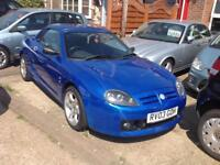 MG TF Cool Blue Sports PETROL MANUAL 2003/03