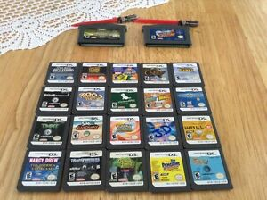 Ds with 21 games,band hero stuff and a game boy with 2 games