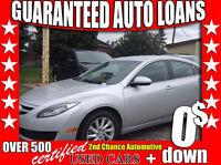 2013 Mazda MAZDA6 GS. 100 % Approval Loans!