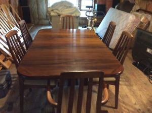 Scandanavian Style Rosewood Dining  Suite