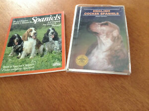 2  BOOKS ABOUT SPANIELS