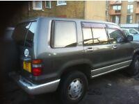 isuzu trooper bighorn 1994 3.1 diesel automatic 7 seater ,mot until 01/2018