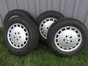 205/65R15 Snow Tires on Rims