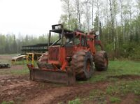 480B Timberjack Grapple Skidder