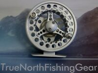 7/8 CNC ANODIZED ALUMINUM ALLOY MED ARBOR FLY REEL SILVER