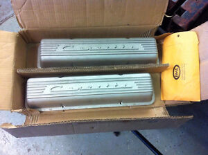 GM VINTAGE STYLE VALVE COVERS  1959 - 1986
