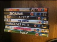 7 DVDs £10 for all or £2 each