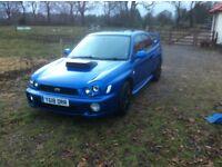 Subaru impreza WRX swap PX