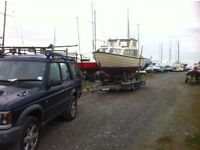 Boat services piggyback trailers moorings