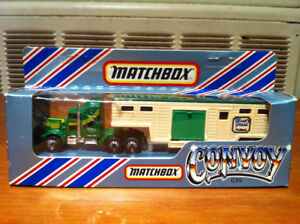 Matchbox Convoy CY6 Kenworth Horse Transporter New in Box