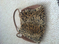 Leopard print small bag from Bebe