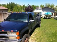 2000 chevy 3500 4x4 dually diesel