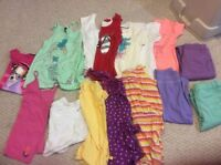 Girl's summer clothes size 12