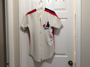 Vintage Montreal Expos Jersey. #8 Gary Carter