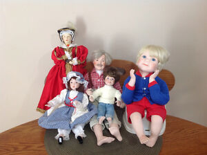 Porcelain Doll Grouping Cornwall Ontario image 2