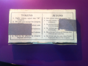 Ration tokens  used  in Canada during the second world war