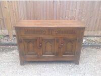 Old Charm Solid Oak Sideboard